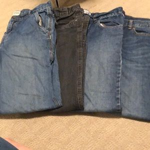 Other - 4 pairs of Boys jeans size 14